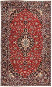 Täbriz Patina Teppich  205X342 Echter Orientalischer Handgeknüpfter Dunkelrot/Rost/Rot (Wolle, Persien/Iran)