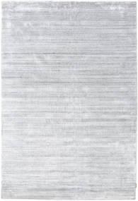 Bambus Seide Loom - Grau Teppich  200X300 Moderner Weiß/Creme/Hellgrau ( Indien)