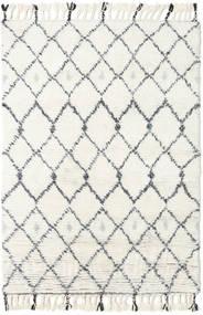 Sauda - Natural Grau Teppich  120X180 Echter Moderner Handgeknüpfter Beige/Weiß/Creme (Wolle, Indien)