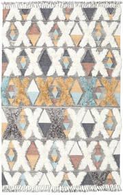 Xavier - Multi Teppich  200X300 Echter Moderner Handgewebter Hellgrau/Beige (Wolle, Indien)