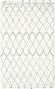Sauda - Natural Grau Teppich  200X300 Echter Moderner Handgeknüpfter Beige/Weiß/Creme (Wolle, Indien)