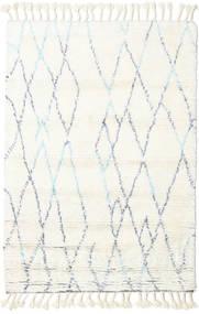 Rana - Natural/Blau Teppich  160X230 Echter Moderner Handgeknüpfter Beige/Weiß/Creme (Wolle, Indien)