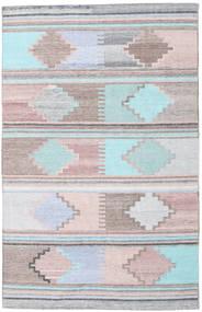 Outdoor-Teppich Pet Yarn Kelim Teppich  160X230 Echter Moderner Handgewebter ( Indien)