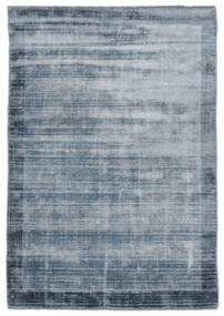 Highline Frame - Ocean Blue Teppich  170X240 Moderner Dunkelblau ( Indien)