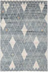 Hatsya - Grau Teppich 200X300 Echter Moderner Handgeknüpfter Hellgrau/Blau (Wolle, Indien)