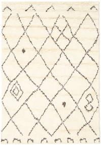 Almaaz - Weiß Teppich  140X200 Echter Moderner Handgeknüpfter Beige/Weiß/Creme (Wolle, Indien)