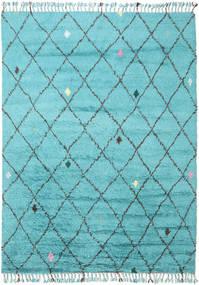 Alta - Türkis Teppich  200X300 Echter Moderner Handgeknüpfter Hellblau/Türkisblau (Wolle, Indien)
