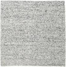 Bubbles - Melange Grau Teppich  250X250 Moderner Quadratisch Hellgrau/Dunkelgrau Großer (Wolle, Indien)
