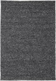 Bubbles - Melange Schwarz Teppich  250X350 Moderner Dunkelgrau Großer (Wolle, Indien)