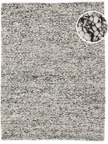 Bubbles - Melange Grau Teppich 250X350 Moderner Hellgrau/Türkisblau Großer (Wolle, Indien)