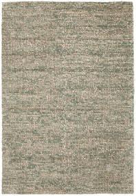 Manhattan - Grün Teppich  200X300 Moderner Hellgrau/Olivgrün ( Indien)
