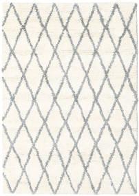 Queens - Grau - Comb. Teppich  140X200 Moderner Beige/Hellgrau (Wolle, Indien)