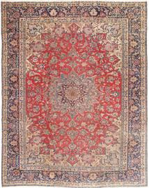 Najafabad Patina Teppich  290X365 Echter Orientalischer Handgeknüpfter Dunkelrot/Beige Großer (Wolle, Persien/Iran)