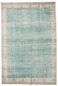 Taspinar Teppich 207X300 Echter Orientalischer Handgeknüpfter Hellgrau/Türkisblau (Wolle, Türkei)
