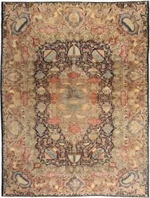 Kashmar Patina Teppich 290X380 Echter Orientalischer Handgeknüpfter Hellbraun/Braun Großer (Wolle, Persien/Iran)