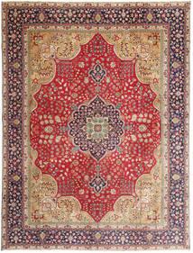 Täbriz Patina Teppich  295X390 Echter Orientalischer Handgeknüpfter Rost/Rot/Dunkelrot Großer (Wolle, Persien/Iran)