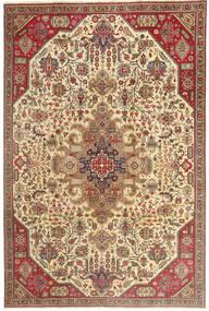 Täbriz Patina Teppich 190X280 Echter Orientalischer Handgeknüpfter Hellbraun/Beige (Wolle, Persien/Iran)