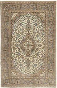 Keshan Patina Teppich 192X298 Echter Orientalischer Handgeknüpfter Hellgrau/Hellbraun (Wolle, Persien/Iran)
