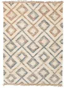 Outdoor-Teppich Patagonia Jute Teppich  140X200 Echter Moderner Handgewebter Beige/Hellgrau (Jute-Teppich Indien)