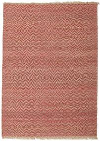 Outdoor-Teppich Jaque Jute Teppich  170X240 Echter Moderner Handgewebter Dunkelrot/Braun (Jute-Teppich Indien)