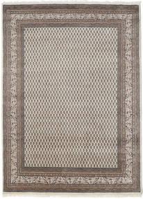 Mir Indisch Teppich 175X240 Echter Orientalischer Handgeknüpfter Hellgrau (Wolle, Indien)