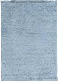 Soho Soft - Sky Blau Teppich  140X200 Moderner Hellblau (Wolle, Indien)
