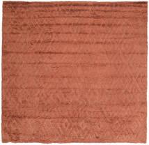 Soho Soft - Terracotta Teppich 250X250 Moderner Quadratisch Rot Großer (Wolle, Indien)