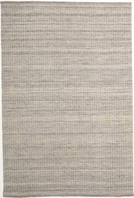Alva - Braun/Weiß Teppich  250X350 Echter Moderner Handgewebter Hellgrau Großer (Wolle, Indien)