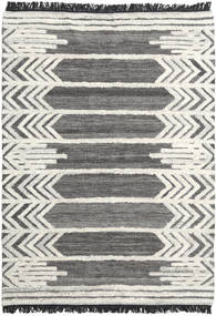 Arrow Teppich  160X230 Echter Moderner Handgewebter Dunkelgrau/Dunkel Beige (Wolle, Indien)