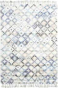 Greta Teppich  160X230 Echter Moderner Handgeknüpfter Weiß/Creme/Beige (Wolle, Indien)