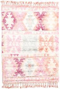 Märta - Rosa Teppich  120X180 Echter Moderner Handgeknüpfter Beige/Hellrosa (Wolle, Indien)