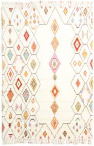 Hulda Teppich  200X300 Echter Moderner Handgeknüpfter Beige/Weiß/Creme (Wolle, Indien)