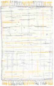 Rakel Teppich  120X180 Echter Moderner Handgeknüpfter Beige/Weiß/Creme (Wolle, Indien)