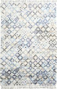 Greta Teppich  200X300 Echter Moderner Handgeknüpfter Weiß/Creme/Beige (Wolle, Indien)