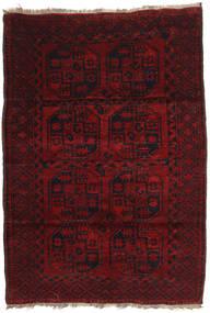 Afghan Khal Mohammadi Teppich 120X173 Echter Orientalischer Handgeknüpfter Dunkelrot (Wolle, Afghanistan)