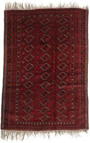 Afghan Khal Mohammadi Teppich 123X177 Echter Orientalischer Handgeknüpfter Dunkelrot (Wolle, Afghanistan)