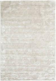 Crystal - Silberweiß Teppich  160X230 Moderner Dunkel Beige/Hellgrau ( Indien)