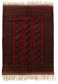 Afghan Khal Mohammadi Teppich 150X196 Echter Orientalischer Handgeknüpfter Dunkelbraun/Dunkelrot (Wolle, Afghanistan)
