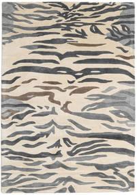 Love Tiger - Grau Teppich  160X230 Moderner Dunkelgrau/Beige/Hellgrau ( Indien)