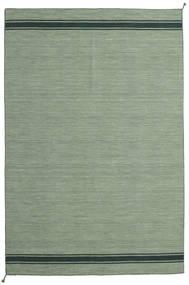 Ernst - Grün/Dunkel _Green Teppich 250X350 Echter Moderner Handgewebter Olivgrün/Hell Grün/Lindgrün Großer (Wolle, Indien)