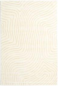Woodyland - Beige Teppich  200X300 Moderner Beige/Weiß/Creme (Wolle, Indien)