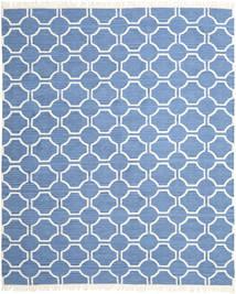 London - Blau/Naturweiß Teppich 250X300 Echter Moderner Handgewebter Blau/Hellblau Großer (Wolle, Indien)