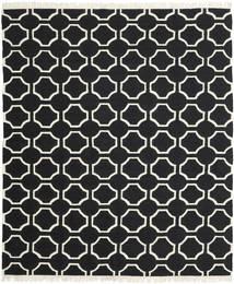 London - Schwarz/Naturweiß Teppich  250X300 Echter Moderner Handgewebter Schwartz Großer (Wolle, Indien)