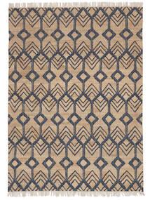 Outdoor-Teppich Trinni Jute Teppich  160X230 Echter Moderner Handgewebter Hellgrau/Beige (Jute-Teppich Indien)