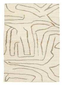 Outdoor-Teppich Native Teppich  140X200 Echter Moderner Handgewebter Beige/Hellgrau (Jute-Teppich Indien)