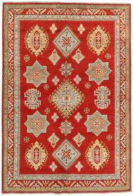 Kazak Teppich  166X247 Echter Orientalischer Handgeknüpfter Rost/Rot/Dunkel Beige (Wolle, Afghanistan)