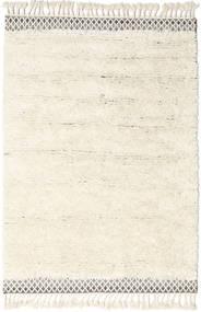 Dixon Teppich  140X200 Echter Moderner Handgewebter Beige/Weiß/Creme (Wolle, Indien)