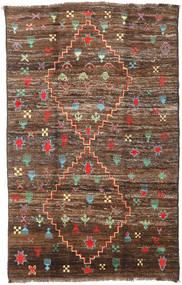 Moroccan Berber - Afghanistan Teppich  190X304 Echter Moderner Handgeknüpfter Braun/Dunkelbraun (Wolle, Afghanistan)