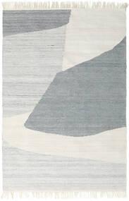 Outdoor-Teppich Ariel Teppich  140X200 Echter Moderner Handgewebter Hellgrau/Dunkel Beige ( Indien)