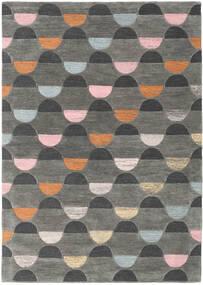 Candy - Grau/Multi Teppich  160X230 Moderner Dunkelgrau/Hellgrau (Wolle, Indien)